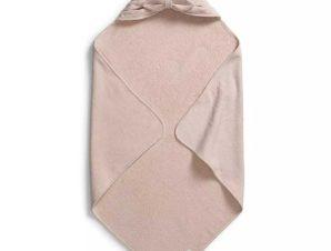 Βρεφική Κάπα Elodie Powder Pink Bow BR74665