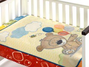 Κουβέρτα Βελουτέ Αγκαλιάς Morven Piccola 277 Red