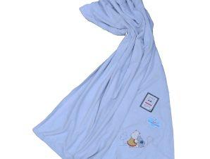 Κουβέρτα Βελουτέ Κούνιας 2 Όψεων Morven Nanos 092 Σιέλ