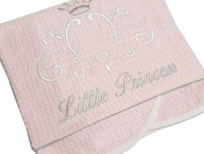 Κουβέρτα Πικέ Αγκαλιάς Baby Oliver My Little Princess 322