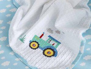 Κουβέρτα Πικέ Αγκαλιάς Nima Baby Little Farm