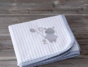 Κουβέρτα Πικέ Κούνιας Nima Baby Hippo Baby