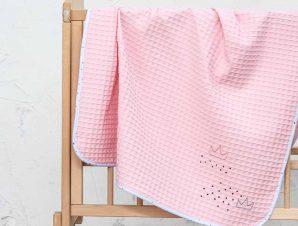 Κουβέρτα Πικέ Κούνιας Nima Baby Majesty