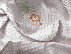 Κουβέρτα Πικέ Κούνιας Nima Baby Tagalong