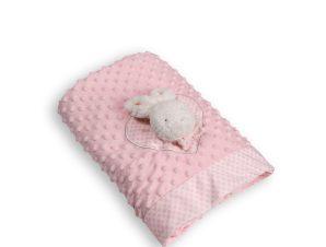 Κουβέρτα Fleece Αγκαλιάς Silk Fashion WL404F Pink