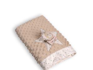 Κουβέρτα Fleece Κούνιας Silk Fashion FSJ161001J Beige