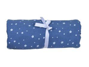 Μουσελίνα/Πάνα Αγκαλιάς Baby Oliver Muslin Blue 374