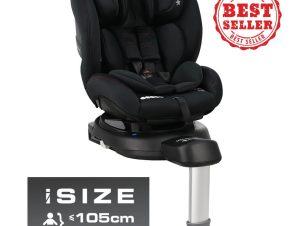 Κάθισμα Αυτοκινήτου Megan i-Size Black 926-188 Bebe Stars Σηκώνει παζάρια!