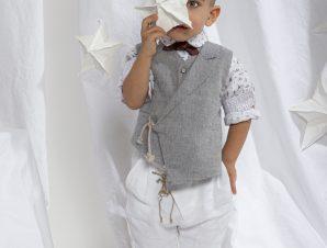 "Baby u Rock Βαπτιστικό Κουστουμάκι ""Guy"" 220B10AC"