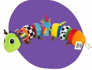 """Παιχνίδι Ανακάλυψης """"Mix and Match Caterpillar"""" Lamaze LC27244"""