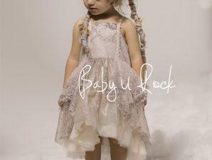 Baby u Rock Φόρεμα Βάπτισης 500784