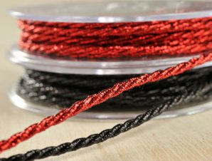 3 mm Κορδόνι lurex Συσκευασία 25 Μ 5316