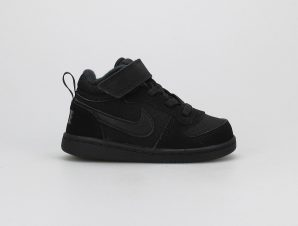 NIKE COURT BOROUGH MID (TDV) ΜΑΥΡΟ