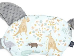 Sleepy Pig Dundee & Friends Blue – Grey