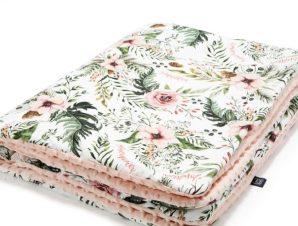 Παιδική Κουβερτούλα (M) Wild Blossom Powder Pink