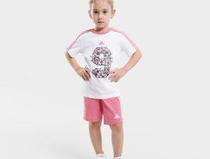 adidas Performance Lil 3-Stripes Sporty Summer Βρεφικό Σετ (9000068520_50087)