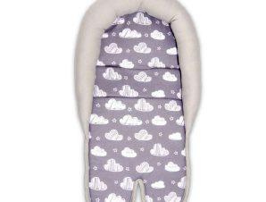 Κάλυμμα για κάθισμα αυτοκινήτου Clouds Grey Lorelli