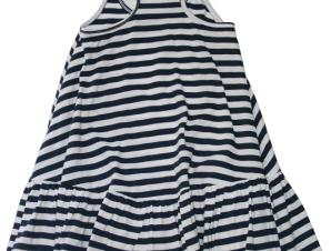Lol the Brand Φορεματάκι Μπλε/Λευκό Ριγέ 12-18 μηνών