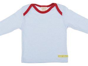 Loud+Proud Μακρυμάνικη Μπλούζα από Οργανικό Βαμβάκι Γαλάζιο 6-12 μηνών