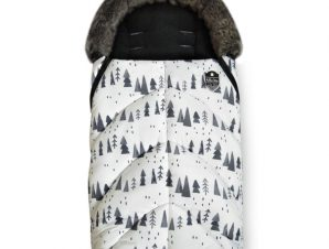 Ποδόσακος Shiny Snow Forest White Kikka Boo