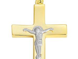 Σταυρός από Χρυσό 14Κ SIO12114