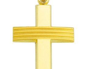 Σταυρός από Χρυσό 14Κ SIO12216