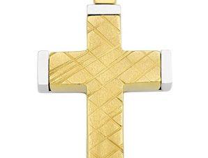 Σταυρός από Χρυσό 14Κ SIO12585