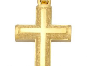 Σταυρός από Χρυσό 14Κ SIO13279