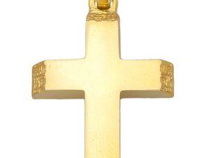 Σταυρός από Χρυσό 14Κ SIO13349