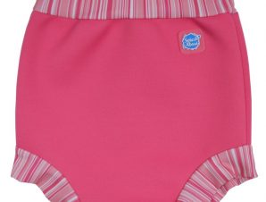 Splash About Μαγιό-Πάνα Happy Nappy Candy Strip Ροζ 3-6 μηνών
