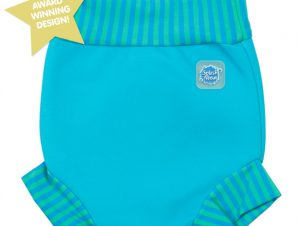 Splash About Μαγιό-Πάνα Happy Nappy Turquoise με Blue