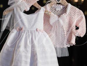 Βαπτιστικό Φόρεμα Vinte Li 172618 (9-12 Μηνών)