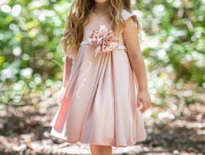 Vinte Li Χειμερινό Φόρεμα Βάπτισης Σάπιο Μήλο 4804